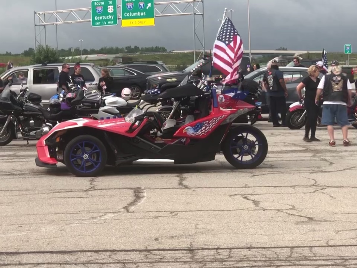 Motorcyclists gather for 9/11 memorial 'ride and drive'