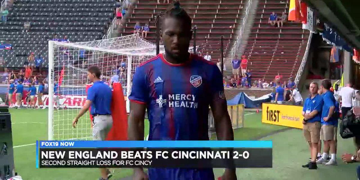 FC Cincinnati drops second straight in shutout loss