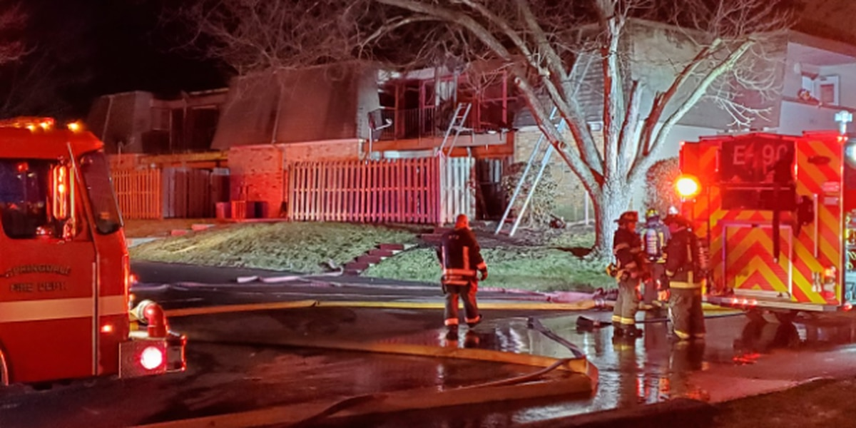 Springdale apartment fire puts residents out in cold