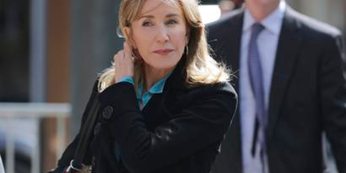 Huffman sentenced in college admissions scandal