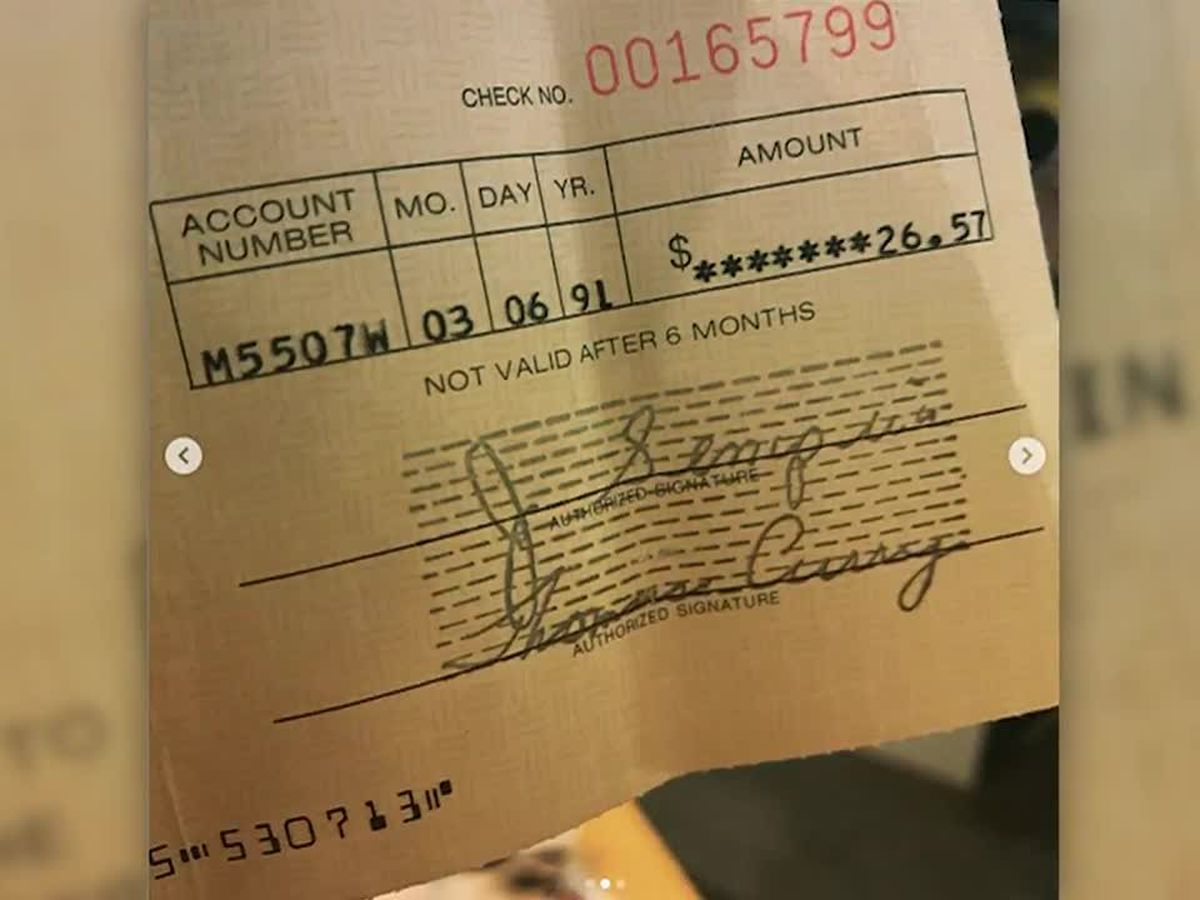 Kurt Cobain royalty check from 28 years ago found in record store