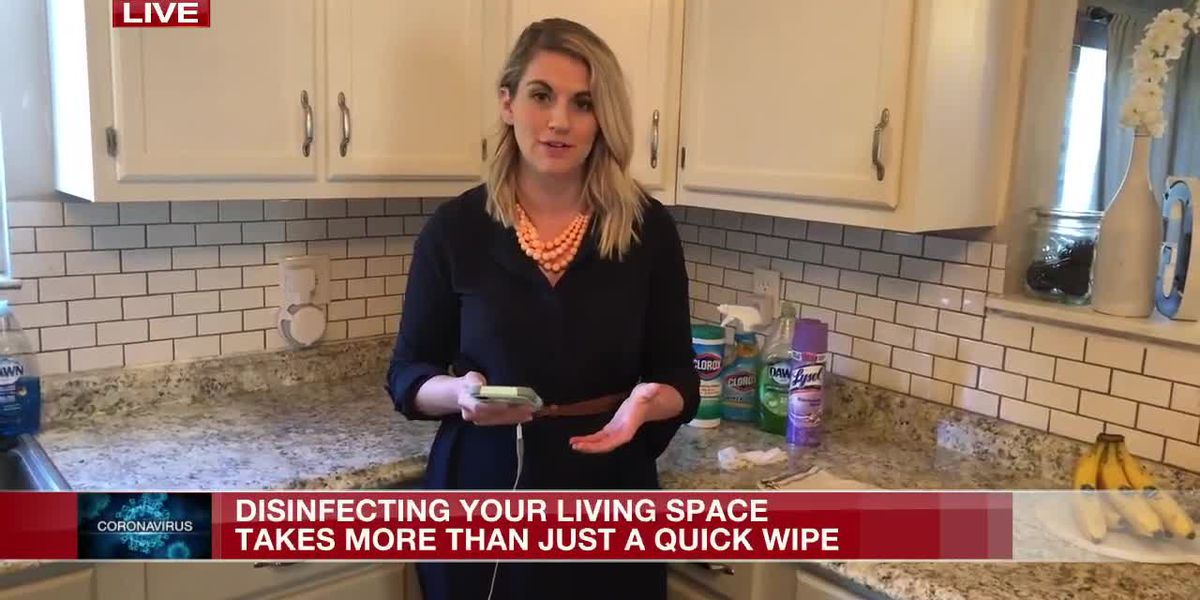 How to properly disinfect surfaces