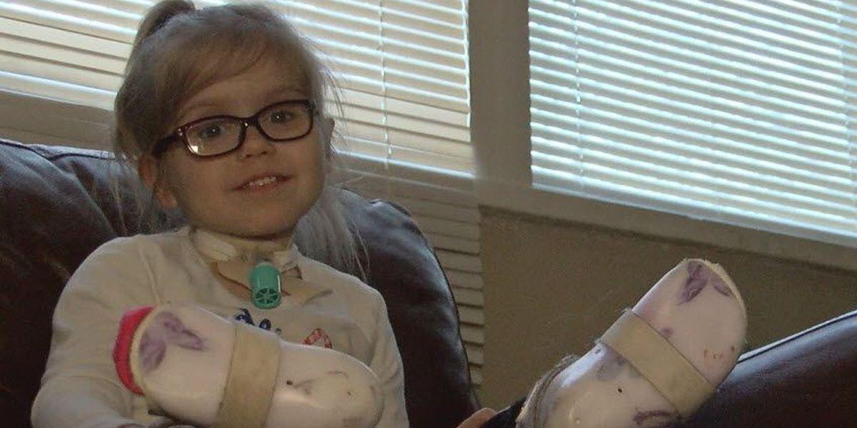 Cincinnati girl's wheelchair stolen from her yard, family says