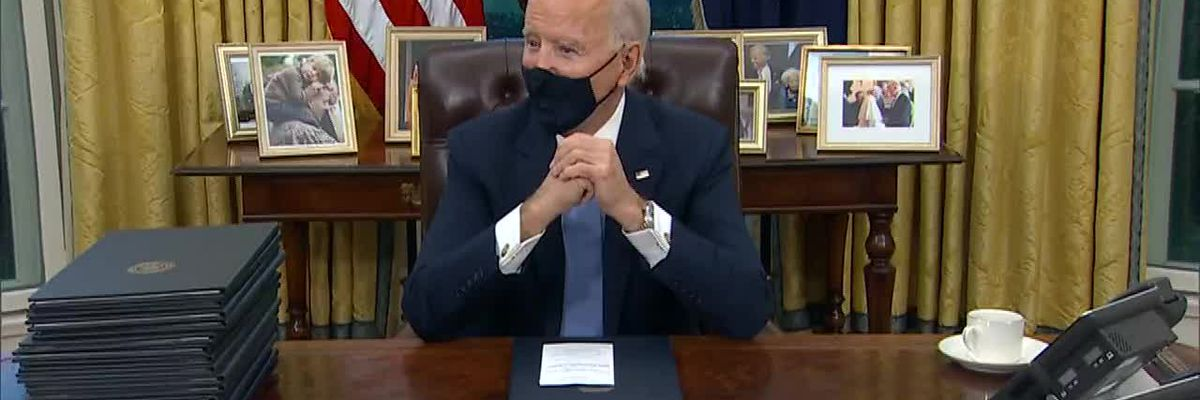 Biden Firsts: Executive Orders, Press Briefing