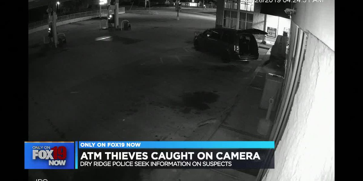 Suspects steal ATM from gas station