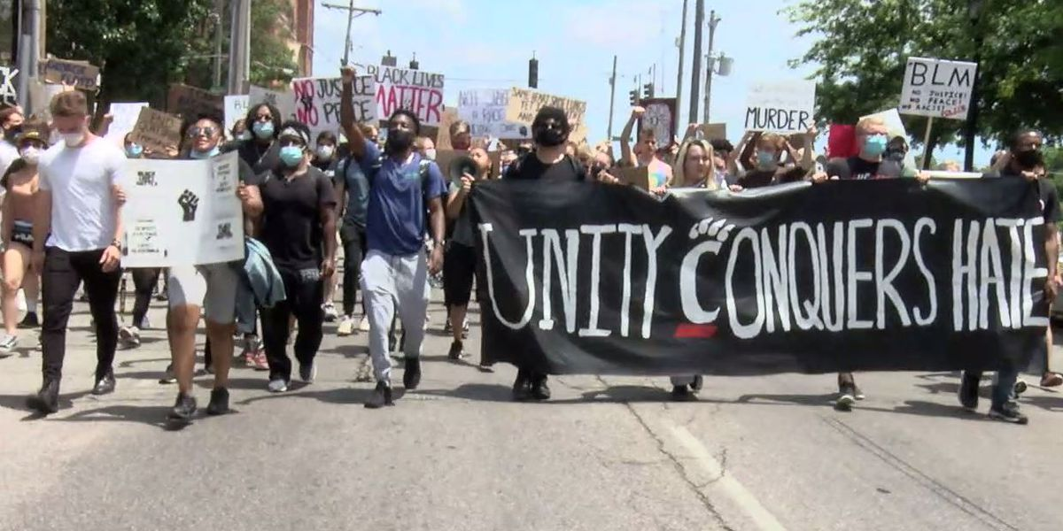 UC students, community members protest racial injustices