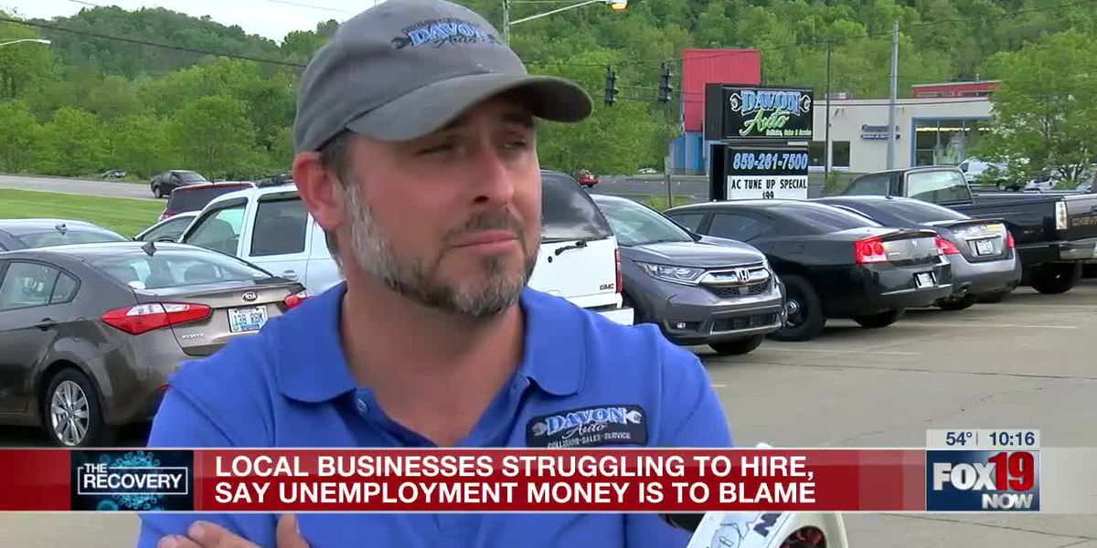 Tri-State business struggling to hire, says unemployment money is to blame