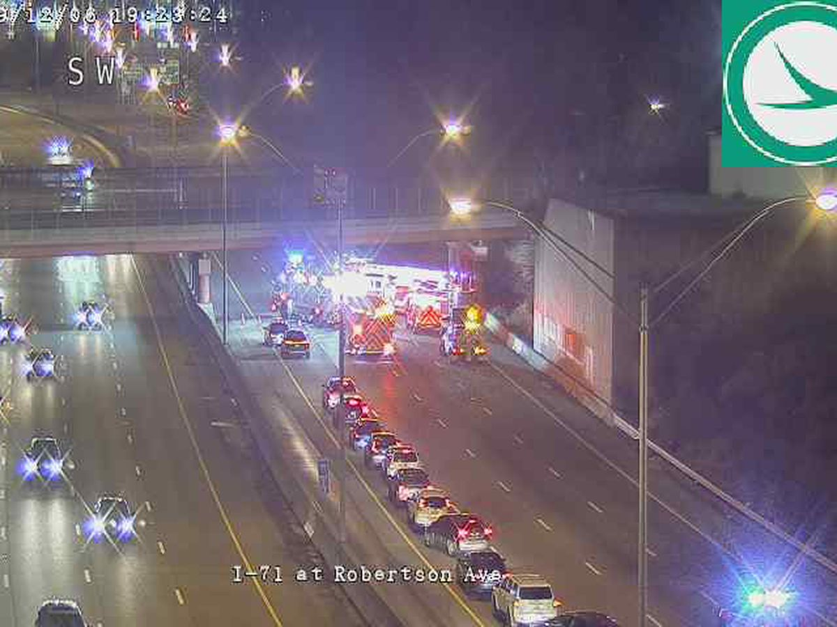 Lanes closed on southbound I-71 near Norwood Lateral, HazMat on the scene | UPDATE: Lanes reopened