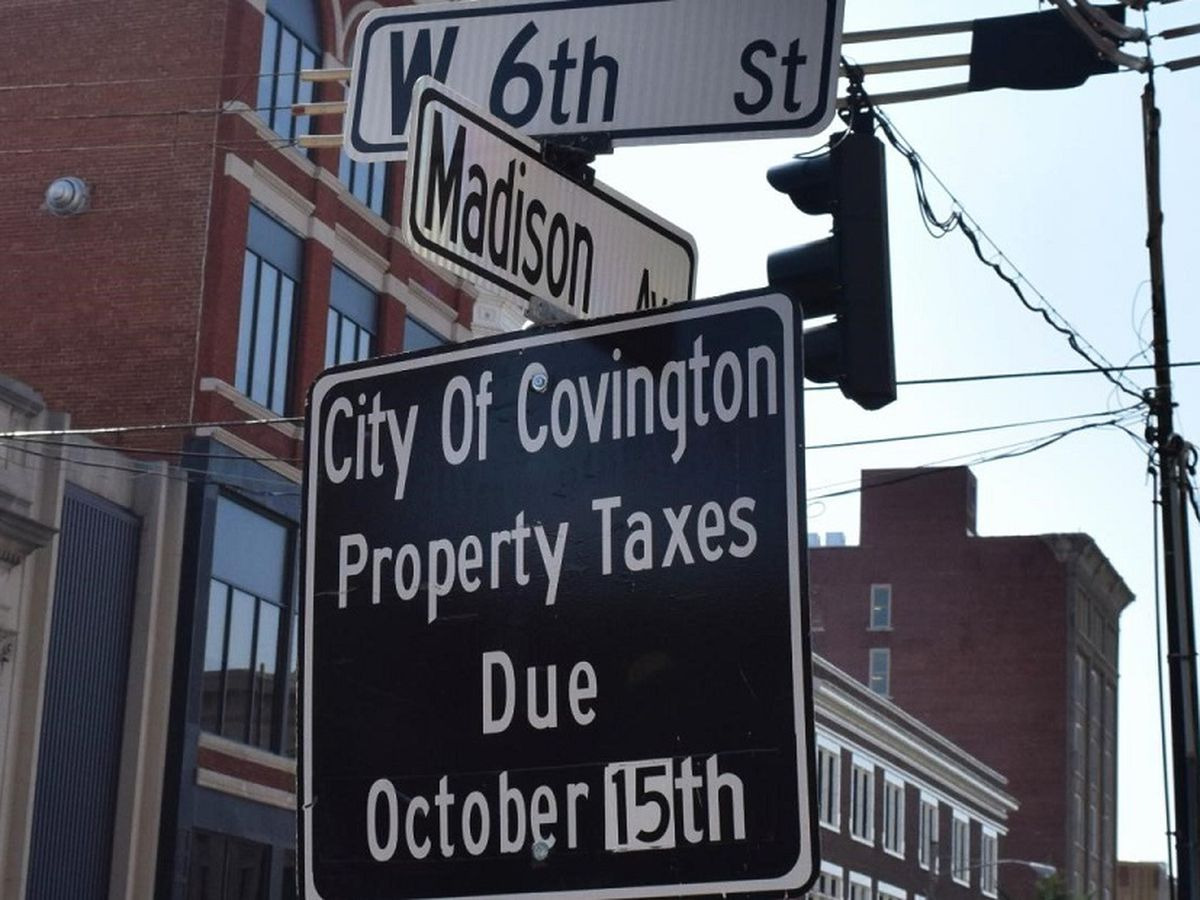 Covington property tax payments due by Oct. 15