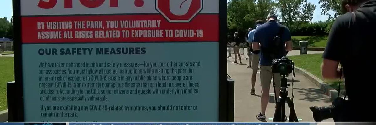 Kings Island reopens with distancing, mask requirements