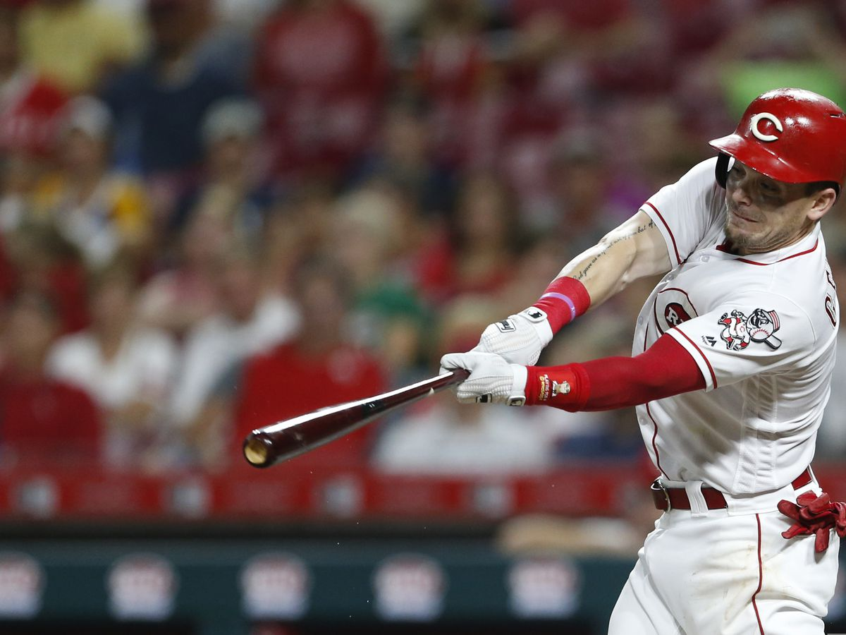 "Scooter Gennett could play games in ""two-and-a-half weeks"""