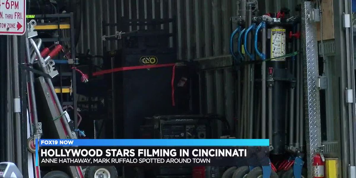 Hollywood stars filming in Cincinnati