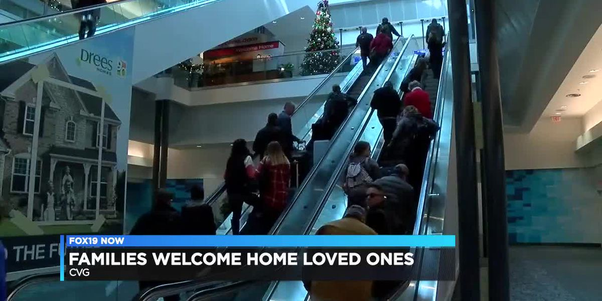 Families welcome home loved ones