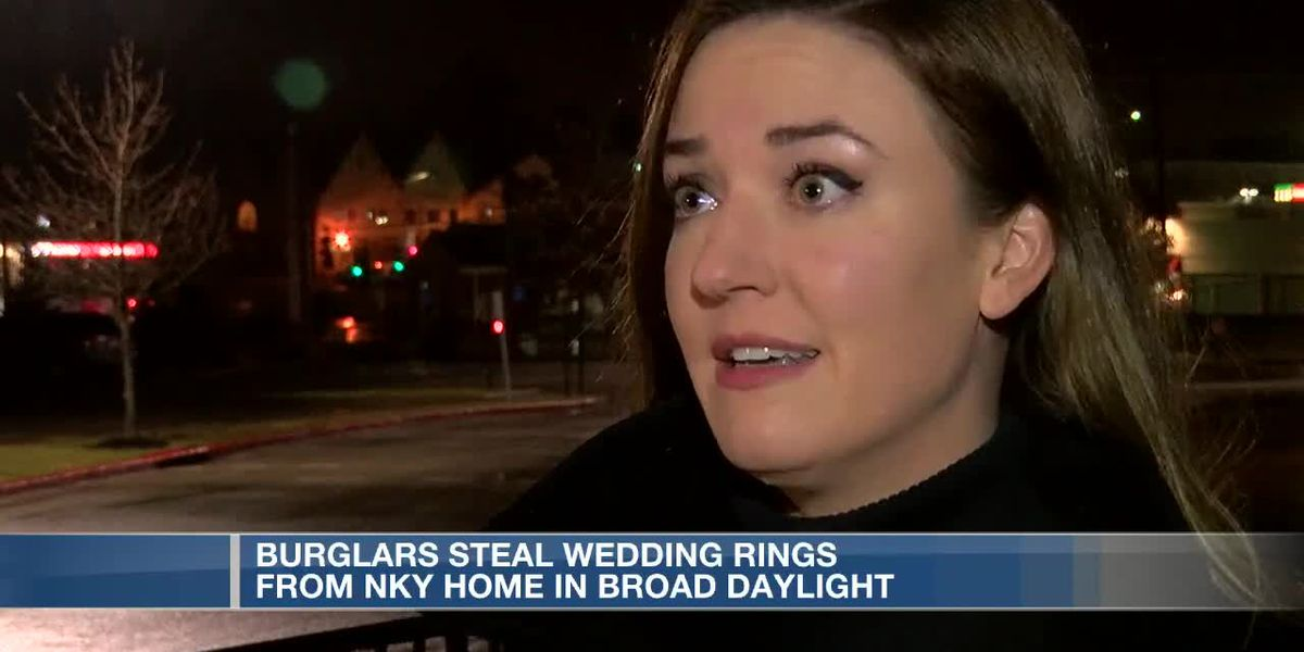 Northern Kentucky woman says her wedding rings were stolen during burglary