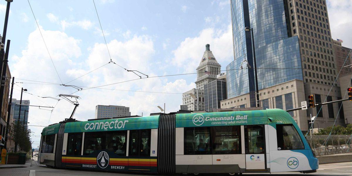 Free streetcar rides available Saturdays during holiday season