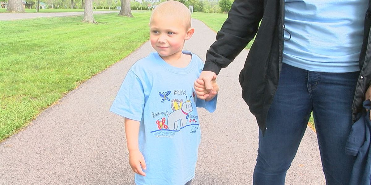 Butterfly Walk this weekend to support pediatric cancer research