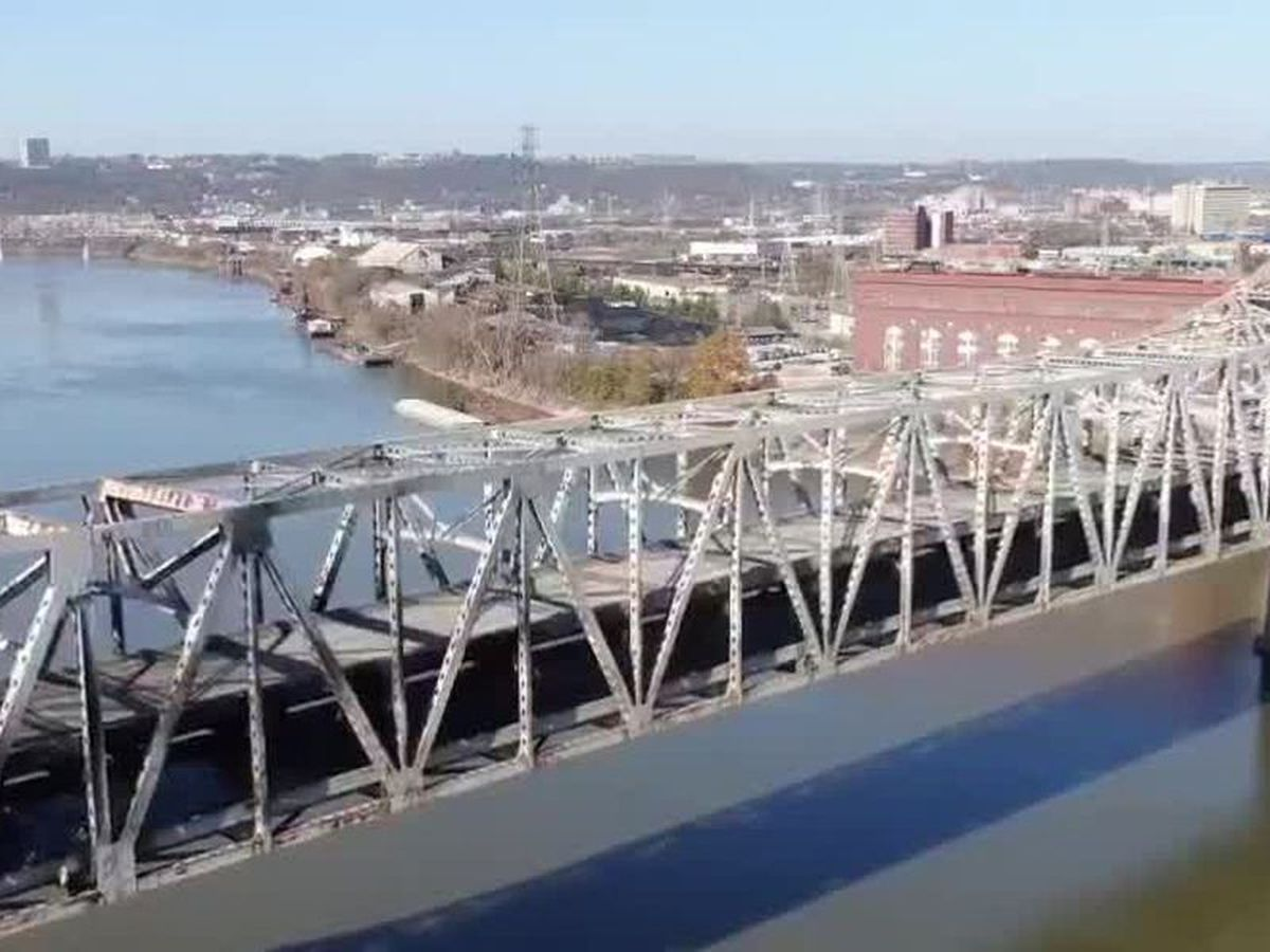Lane, ramp closures begin Monday as Brent Spence Bridge refurbishment begins