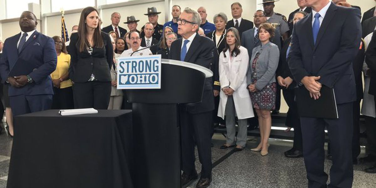 Gov. DeWine unveils 17-point plan intended to curb gun violence