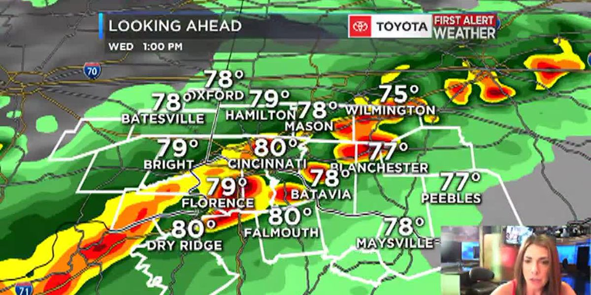 Wednesday is a First Alert Weather Day: Severe weather possible