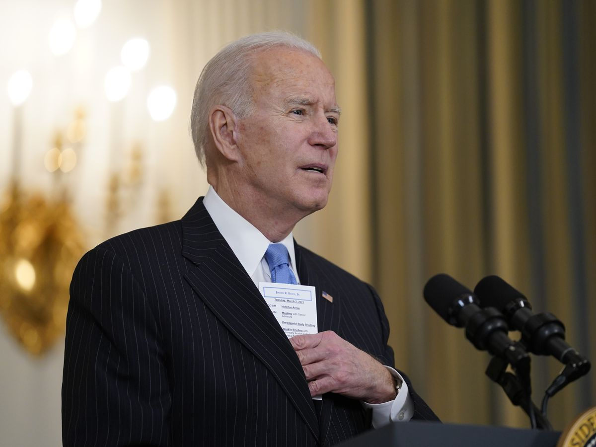 Biden's big relief, stimulus checks package a bet gov't can help cure America