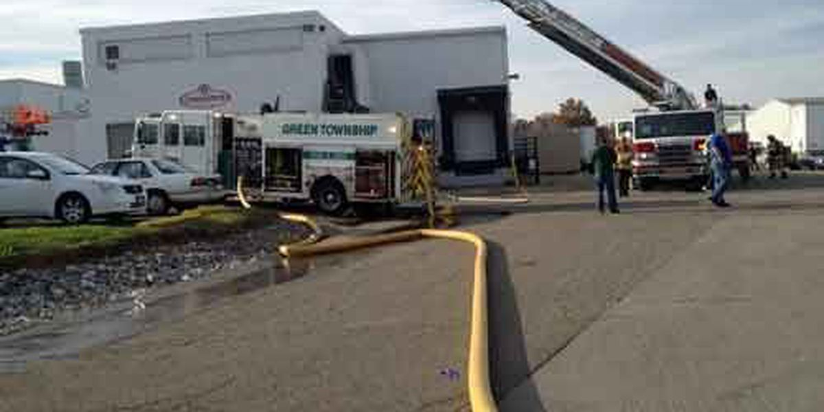 Four workers overcome with smoke inhalation at Green Twp fire