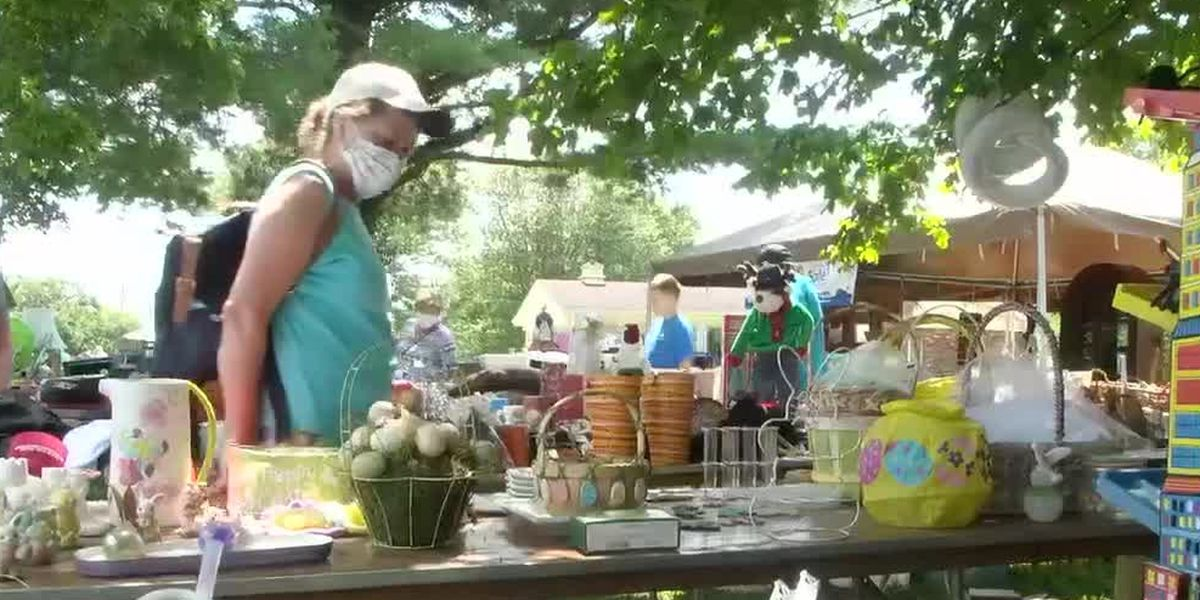 World's longest yard sale through Kentucky and Ohio this weekend