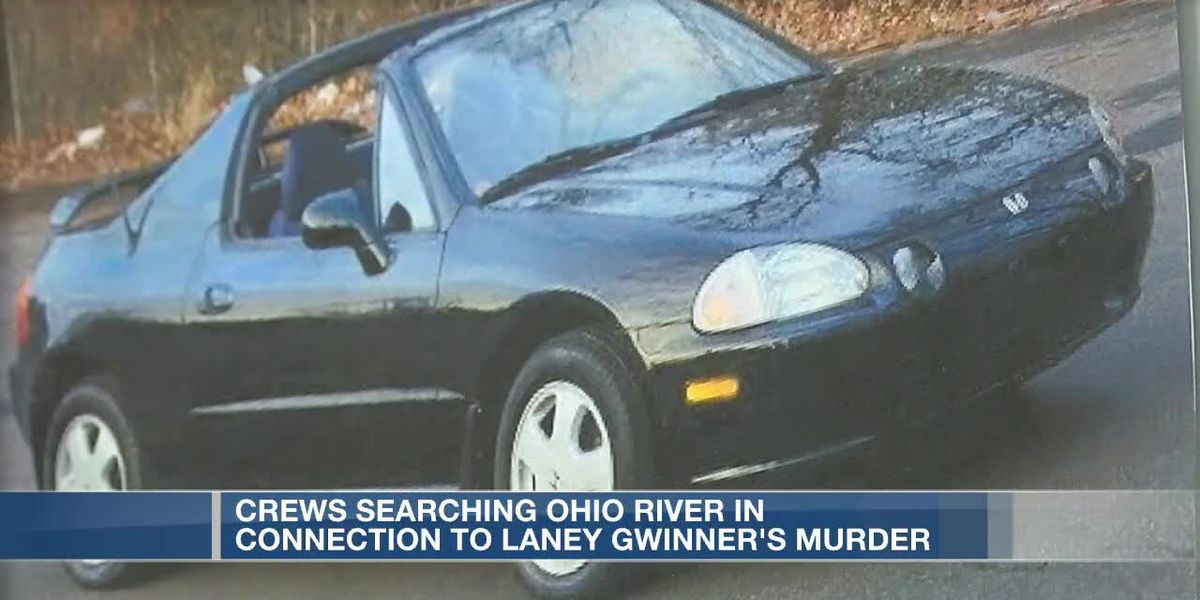 Team of volunteers searching Ohio River for connection to unsolved murder of Laney Gwinner