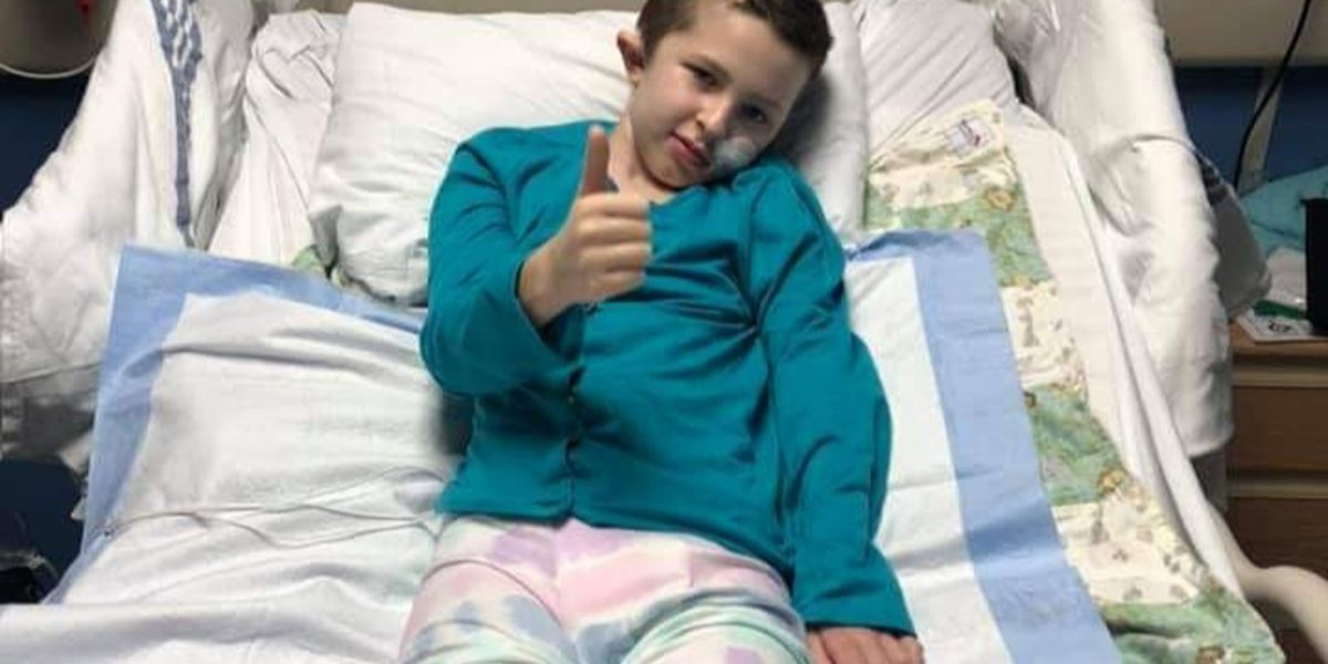 'Just keep pressing forward:' Lebanon girl partially paralyzed after brain bleed now preparing to go home