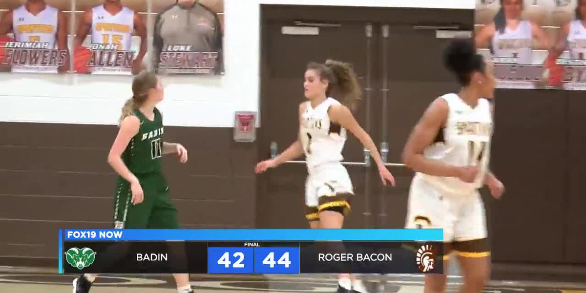 Roger Bacon girls net 17th win in dramatic fashion over Badin