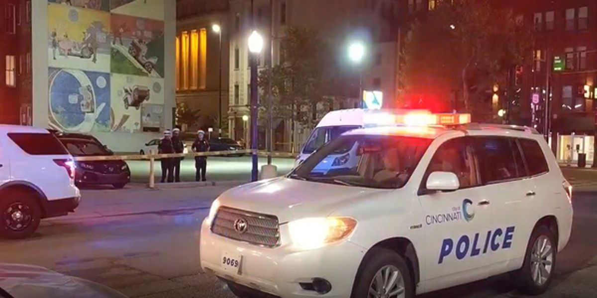 Man shot in the stomach in downtown Cincinnati