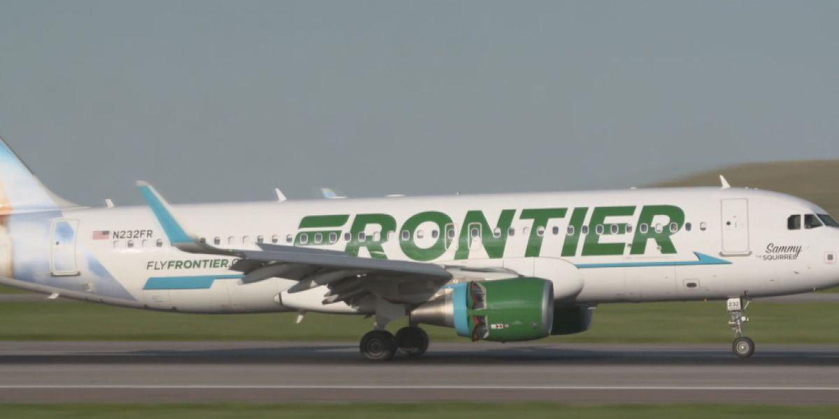 Frontier Airlines to require passengers to wear face coverings as part of COVID-19 prevention policy