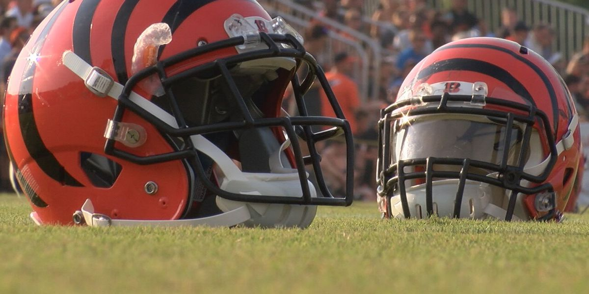 Bengals will open training camp in Dayton