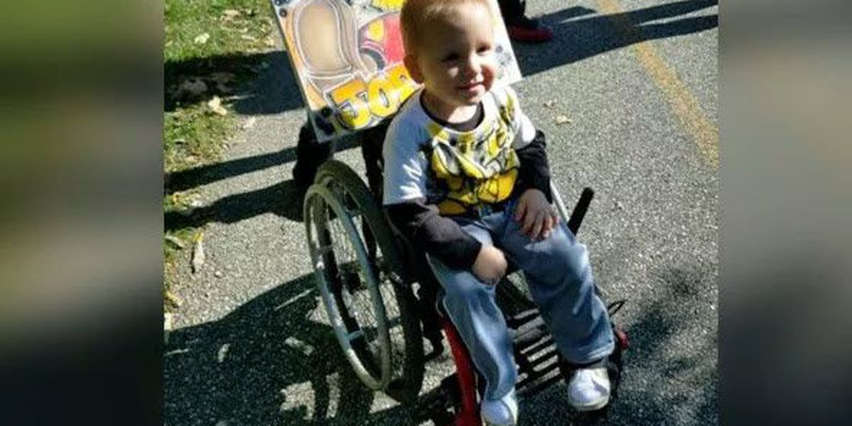 3-year-old reunited with stolen wheelchair