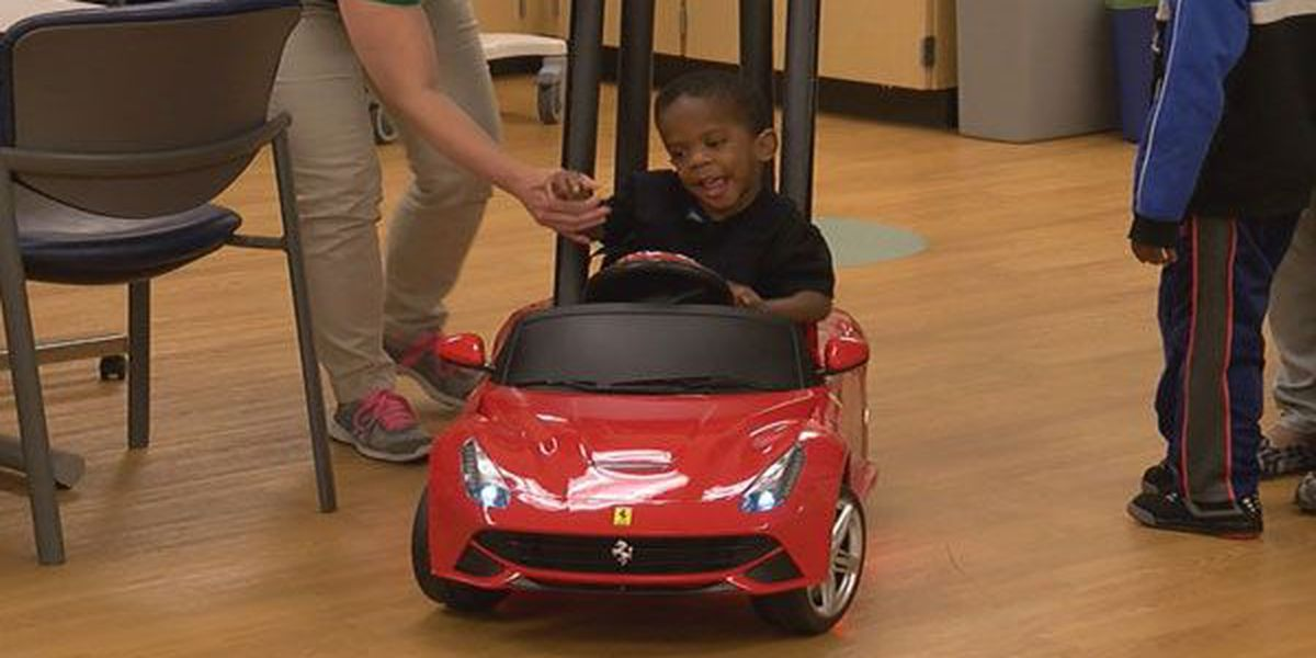 Seven Hills students build Ferrari for special needs child