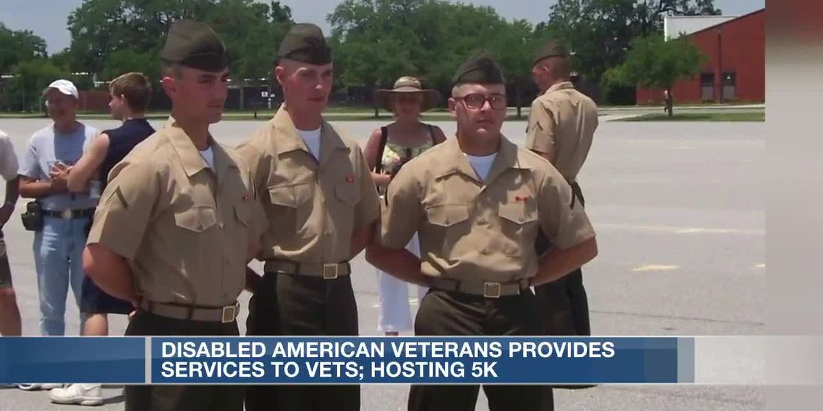 Disables American Veterans provides services to vets, hosting 5K