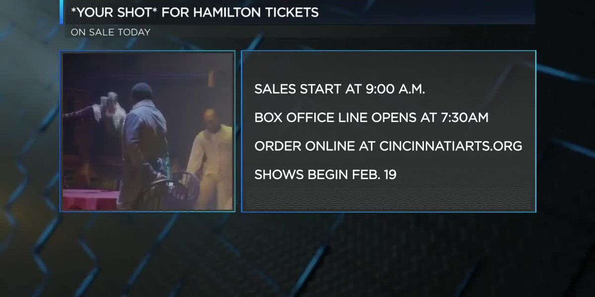 Lines for Hamilton tickets as sales start Friday