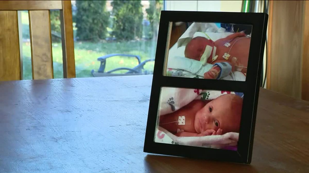 Burgler in Ill. steals baby's ashes