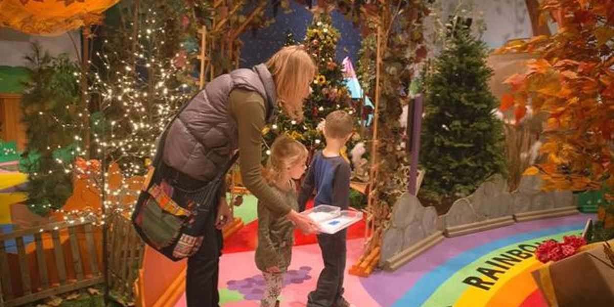 Northeast Ohio gets in the Christmas spirit with life-size Candy Land game (video tour)