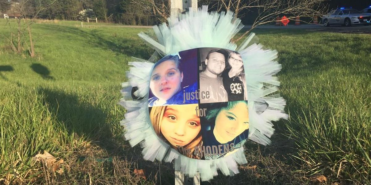 Diagram shows relationship between 8 victims in Rhoden family shootings
