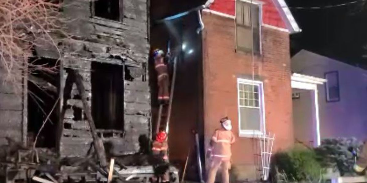 Homeowner leaves 90 minutes before fire destroys Elmwood Place home, Elmwood Place Fire Chief says