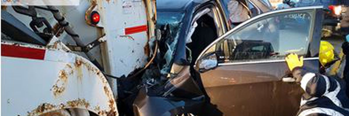 Woman dies after fatal crash involving Rumpke truck in Oxford Twp., police say