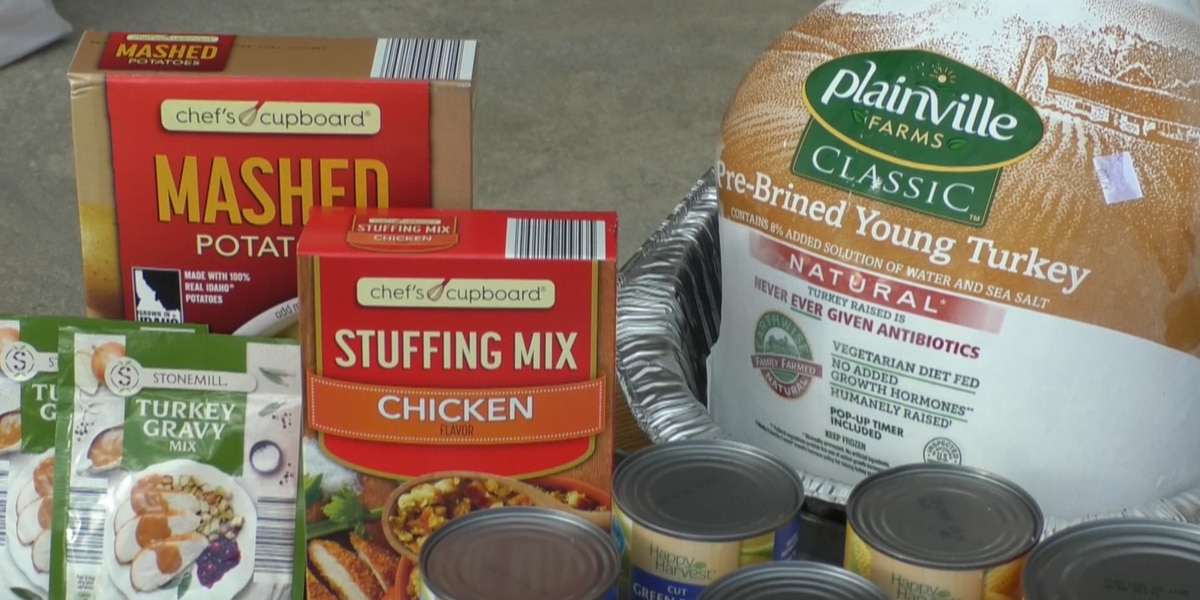 Fall Feast Thanksgiving meals will be delivered this year