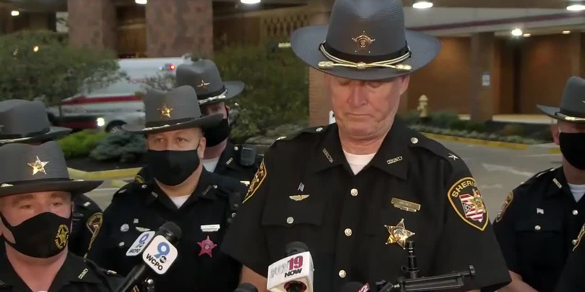 Sheriff's office updates condition of Deputy Adam McMillan
