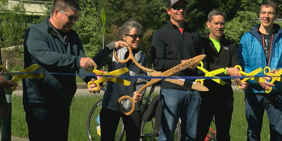 New 2-mile section of Ohio River Trail opens