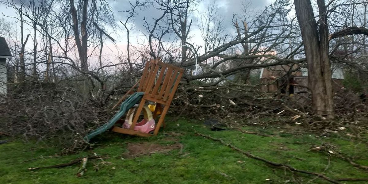 NWS reports 10 tornadoes across Tri-State last Wednesday
