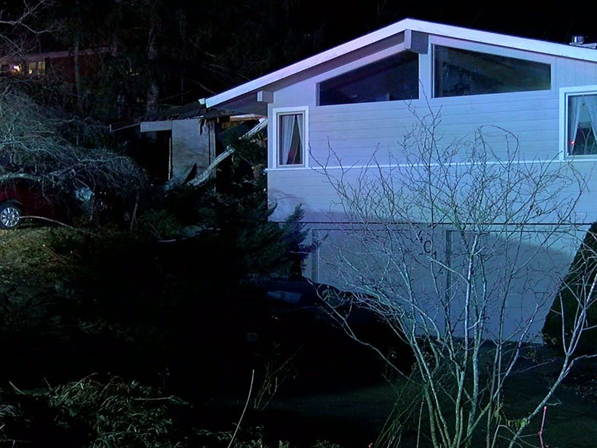 Driver pronounced dead after car rolls, crashes into Mariemont home