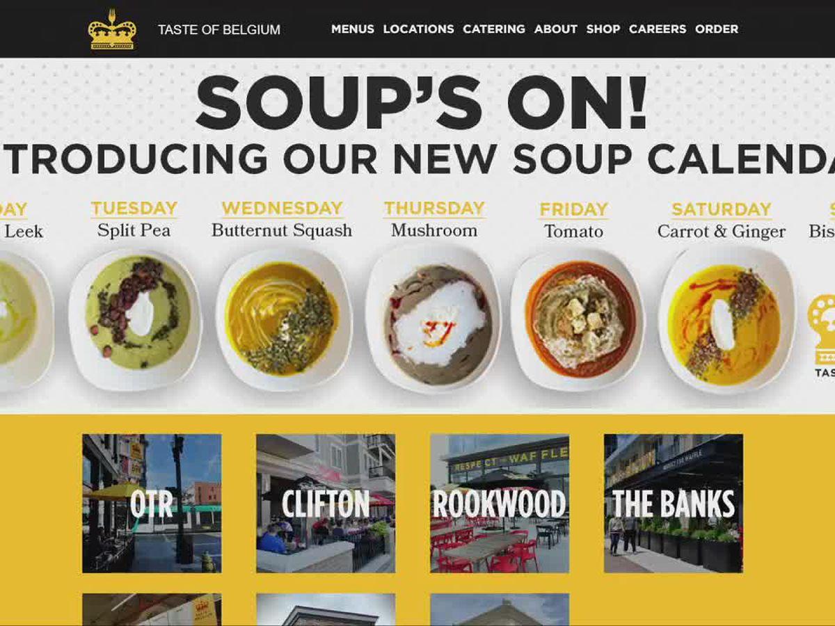 Taste of Belgium introduces a soup calendar