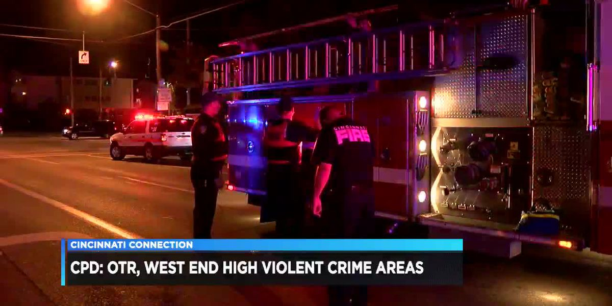 Cincinnati Connection: CPD: OTR, West End are 'high violence crime areas'