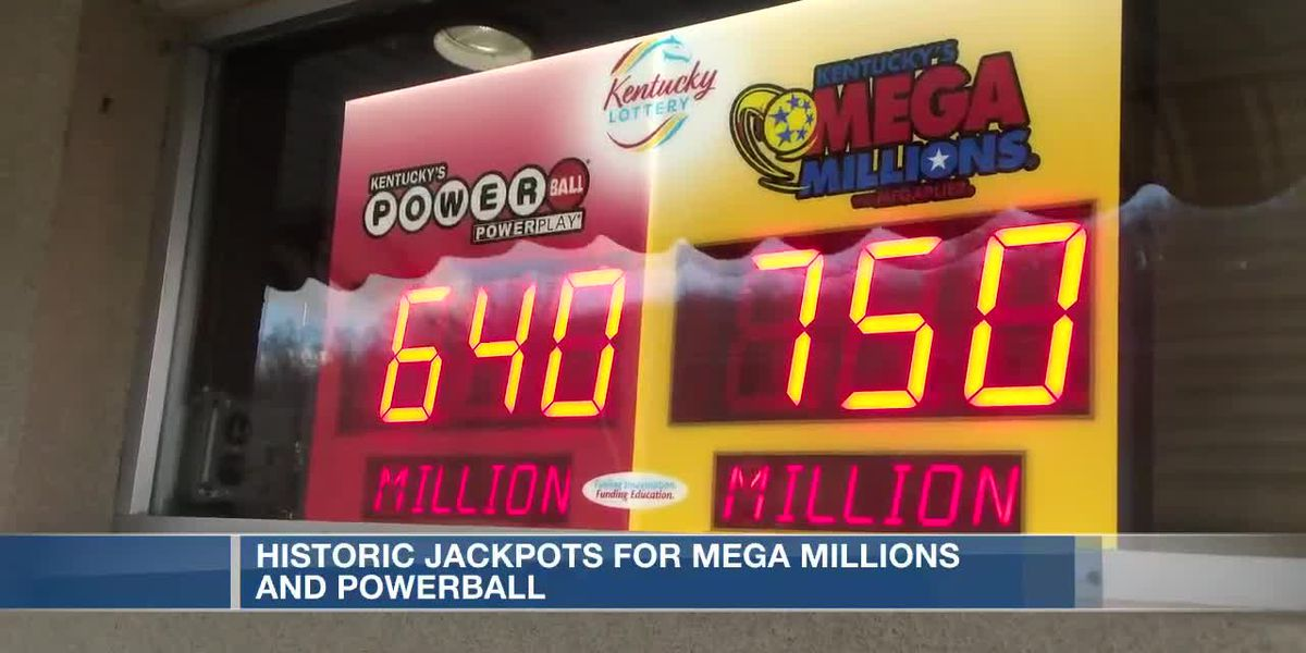 Historic jackpots for Mega Millions, Powerball
