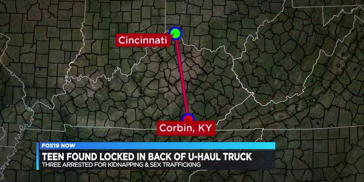 Teen found locked in back of U-Haul truck